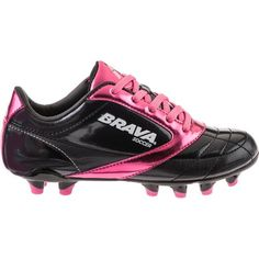 Image for Brava® Soccer Girls' Crossfire II FG Soccer Cleats from Academy