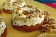 In The Kitchen With Honeyville: Almond Flour Carrot Cake Donuts Recipe