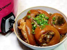 豬腳三溫暖,免煎免炸,滷出Q嫩好口感!啤酒代替水,肉質軟嫩不油膩!用電鍋也能巧妙滷出絕佳好滋味!