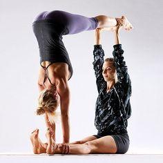 partner yoga. cortneeloren