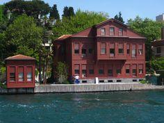"The shores of Bosphorus - beautiful old mansions... ISTANBUL  ""Asaf Paşa Yalısı (Yedi-Sekiz Hasan Paşa Yalısı)  Kanlıca"