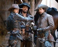 the misanthropic lycanthrope The Musketeers Tv Series, Bbc Musketeers, The Three Musketeers, Howard Charles, Captain Flint, Luke Pasqualino, Tom Burke, Bbc Drama, My Fantasy World