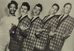 "Johnny Maestro and The Crests had many hits starting with ""Sixteen Candles""  in the late 50s and early 60s. The female singer is Luther Vandross' sister Patricia."