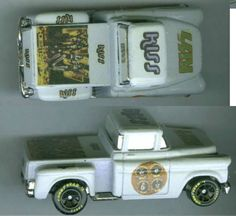 KISS BAND COLLECTIBLE 1/64 SCALE HOT WHEELS TRUCK CUSTOM