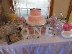 """Winter """"One""""derland Party #winterparty Oh wow if only I could create this in 3 short weeks. Where to start =/"""