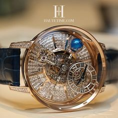 The astronomical 'Astronomia' Tourbillon from Jacob&Co with a patented Differential Gears System (this has a fully vertical movement) patented.