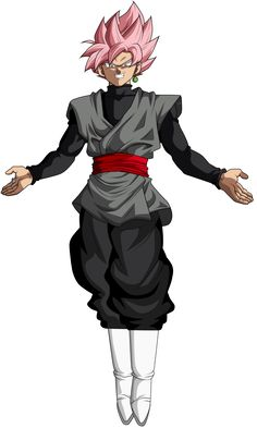 Goku Black Super Saiyan Rose by ChronoFz on DeviantArt Black Goku, Goku Black Super Saiyan, Goku Super, Dbz Characters, Beyblade Characters, Broly Movie, Hero Poster, Dragon Ball Gt, Naruto