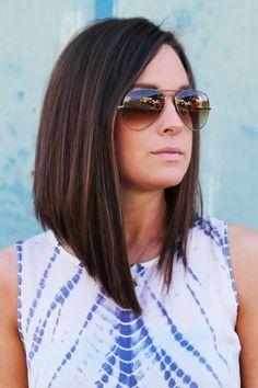 25 Women Summer Hairstyles Ideas for Medium Hair Medium Hair Cuts, Short Hair Cuts, Medium Hair Styles, Short Hair Styles, Long Bob Haircuts, Long Bob Hairstyles, Summer Hairstyles, Look 2018, Shoulder Length Hair