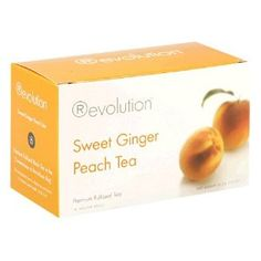 Omigosh I LOVE this stuff, it is so delicious! Revolution Sweet Ginger Peach Tea