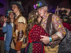 "4/28/2016. Keltisch Vruchtbaarheidsfestival (Celtic fertility festival) in Ruigoord, Amsterdam. Photographer Amaury Miller was this weekend at the Beltaneviering at Ruigoord. ""An old, Celtic fertility festival, by which our ancestors for thousands of years have celebrated in the spring,"" according to the organization. Photo Amaury Miller. #newsandevents #nightlife #amsterdam"