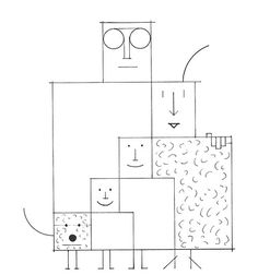 Ink Drawing by Saul Steinberg | The Labyrinth, 1960 | Bryce Wilner | Flickr