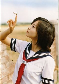 堀北真希 Ladies in Magnificent SchoolGirl Cosplay Japanese School Uniform, School Uniform Girls, High School Girls, Kids Uniforms, School Uniforms, Japan Outfit, Beautiful Japanese Girl, Girls Gallery, Japan Girl