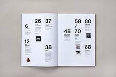 Resultado de imagen para editorial design index