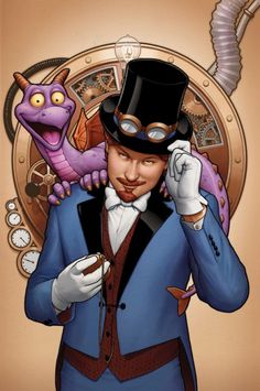Figment comic unveiled from Disney and Marvel, adding Dreamfinder to latest in Disney Kingdoms line