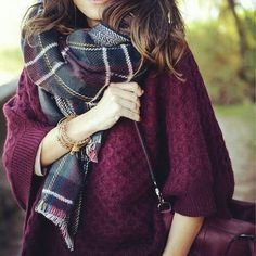 I am looking for a blanket scarf and I love these colors!
