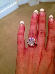 5 carat cushion cut my dream engagement ring