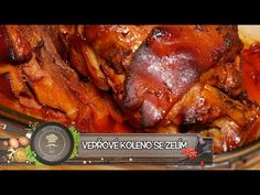 (3) Vepřové koleno - Nejlépe a jednoduše! To musíte vidět! - YouTube Chicken Wings, Recipies, Pork, Meat, Youtube, Tv, Recipes, Pork Roulade, Pigs