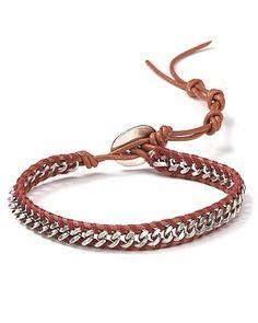 Metal Chain Bracelet - DIY idea