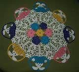 Easter Crochet Doily Easter Table