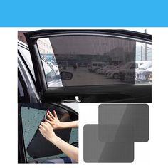 Black Auto Sun Visor Window Suction Cup Car Curtain Sun Shade Covers Sunshade For Haval 9 M4 C30 C50 C20r H2 H3 H5 H6 H8 H8 H #Affiliate