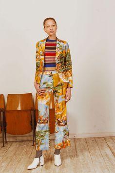 Stella Jean Pre-Fall 2018 Fashion Show Collection Kids Fashion Show, Fashion Show Collection, Fashion Tips For Women, Work Fashion, Summer Collection, Women's Fashion, Stella Jean, Yellow Fashion, Colorful Fashion