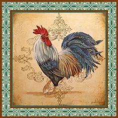 I uploaded new artwork to fineartamerica.com! - 'Renaissance Rooster-c' - http://fineartamerica.com/featured/renaissance-rooster-c-jean-plout.html via @fineartamerica