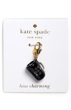 kate spade new york 'how charming' novelty charm