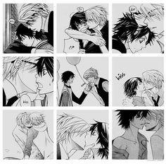 Una encantadora pareja ♡ #Junjou_Romantica #Junjou #Romantica #Misaki_Takahashi #Akihiko_Usami #Akihiko #Usami #Usahi-San