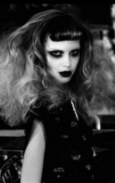 Fashion Victim by Irina Ionesco- i love that make up <3