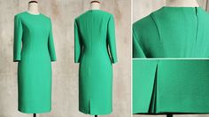 Sew a perfect fitting sheath dress with the step-by-step advice of our renowned artisan-tailor