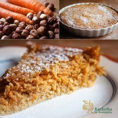 Kuchařka ze Svatojánu: MRKVOVÝ KOLÁČ S OŘÍŠKY Cereal, Oatmeal, Gluten Free, Healthy Recipes, Vegetables, Cooking, Breakfast, Sweet, Paradise