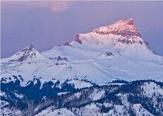 Uncompahgre Peak, 14,309 ft., just 7 miles west of Lake City, Colorado.