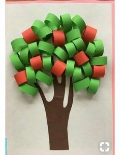 Art activity with ribbon papers Preschool Crafts, Crafts For Kids, Arts And Crafts, Summer Crafts, Fall Crafts, Projects For Kids, Diy For Kids, Bible Crafts, Paper Crafts