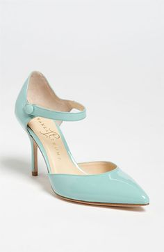 Mint Mary Jane Pump