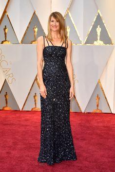 Celebrity & Gorgeous Fashion  Oscars 2017 Red Carpet  Laura Dern in Rodarte