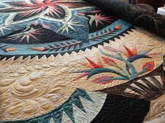 Creative Quilting by Debbie Stanton: Paradise in Blooms