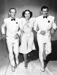 """Fred Astaire, Eleanor Powell, and George Murphy in """"Broadway Melody of 1940"""" (1940)"""