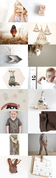 Wild Boys by Lucia Vils on Etsy--Pinned with TreasuryPin.com | kids room | for boys