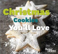 Have you started baking for the holidays? Add these delicious treats to your list! More #cookie recipes: http://www.bhg.com/recipes/desserts/cookies/