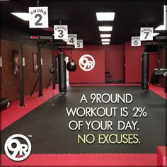 """Yes, with all the hustle and bustle of the holidays, it's FAR too easy to allow our minds to """"convince"""" our bodies to skip workouts. MOST workout routines are sooo time-consuming that it's REALLY tough to keep them up over the holidays. But 9Round delivers TOTAL body results in a quick and convenient 30-minute workout with NO class times and a trainer with you every step of the way. Contact us for more reasons! #30MinuteWorkout #TotalBodyResults #9RoundFarmingtonHills"""