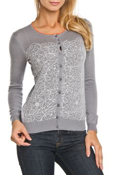Yal Melbourne Cardigan in Gray - Beyond the Rack