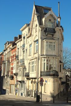 Brussels - home to Audrey Hepburn and beautiful Art Deco buildings - gorgeous.