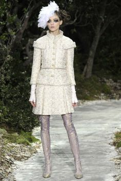 CHANEL Couture Paris S/S 2013 #DelortaeAgency ~ Haute Couture Spring-Summer 2013 collection shows on January 22, 2013 at the Grand Palais in Paris. AFP PHOTO / PATRICK KOVARIK (Photo credit PATRICK KOVARIK/AFP/Getty Images)