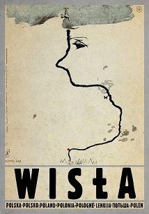 Ryszard Kaja - Wisła, polski plakat turystyczny