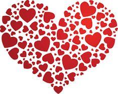 Resultado de imagen para papel decorativo para imprimir corazones Heart Map, Love Heart, Heart Tree, Heart Emoji, Valentine Activities, Heart Images, Dahlia Flower, Flowers, Valentine Decorations