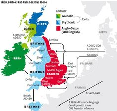 Picture European History, British History, World History, Ancient History, Family History, Uk History, Family Lineage, Map Of Britain, Dna Genealogy