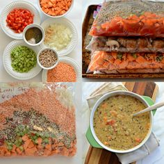10 Quick and Healthy Freezer to Slow Cooker Meals (NO prep cooking needed!)