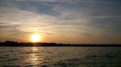 Sonnenuntergang auf dem Kummerower See