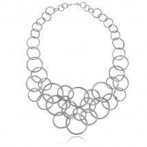 Mirabilis Necklace in Sterling Silver with Diamonds - Gitte Soee Jewellery - Shop Online