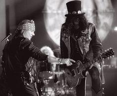 Axl Rose & Slash